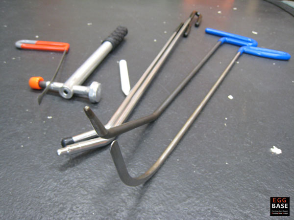 使用したデントリペア工具
